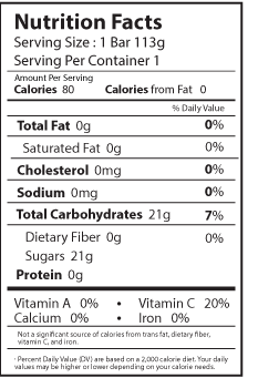 fresa nutrition facts